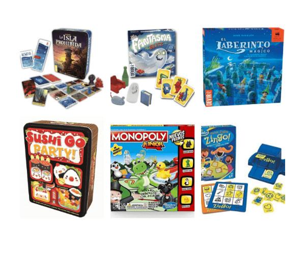 juegos de mesa para niños de 6 a12 años