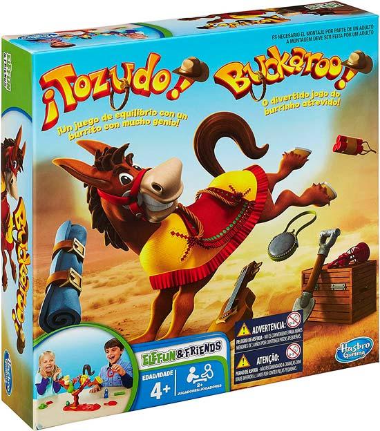 juego burro para niños 4 años